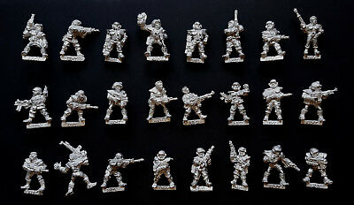 Citadel Warhammer 40K Rogue Trader Imperial Army RT05 RT501 4010 Metal 1980's