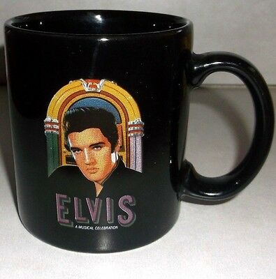 vtg RARE Maxwell House Coffee CUP MUG ELVIS GOOD TO THE LAST DROP