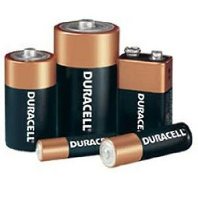 Duracell AA,AAA,C,D,9V Alkaline Batteries Specials for Toys,Remote,Torch etc...