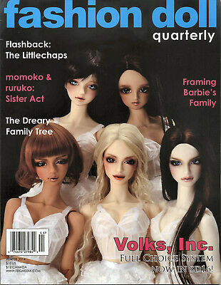 Fashion Doll Quarterly FDQ Winter 2014 The Littlchaps, Dreary Fmaily,Volks Inc