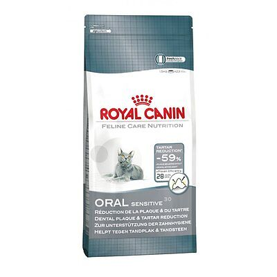 Royal Canin Cat Oral Sensitive 30, Feline Dry Food, Complete Cat Food 400g