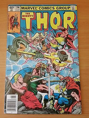 The Mighty Thor #296 ~ VERY FINE VF ~ 1980 MARVEL COMICS