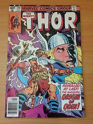 The Mighty Thor #294 ~ FINE - VERY FINE VF ~ 1980 MARVEL COMICS