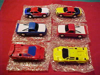 ARTIN 1/43 SLOT CAR  SIX PACK (ALL BRAND NEW) SPECIAL & READY TO RACE F-BOX