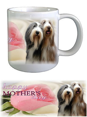 Bearded Collie Dog Mothers Day Ceramic Mug by paws2print