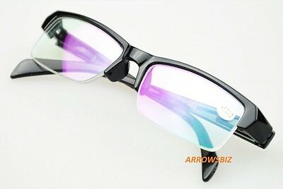 Near Sighted Half Rim Anti-Reflection Short Distance Glasses Myopia -1.0 to -5.5