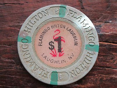 Flamingo Hilton Laughlin NV $1 Casino Chip