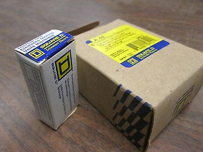 Square D Overload Relay Thermal Unit A .65 Lot of 3 New Surplus