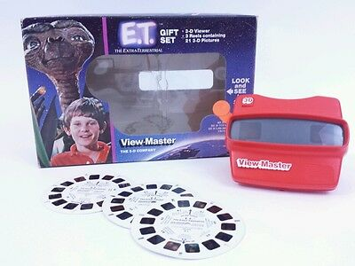 E.T. View-master Gift Set in box 1982