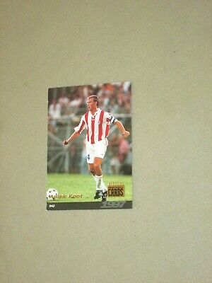 Carte official football cards panini 1997  KOOT   AS CANNES