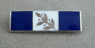 Military - Police - Law Enforcement - Vintage Enamel Award Bar Pinback