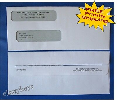 QUICKBOOKS Check ENVELOPES SelfSeal DoubleWindow X - Intuit invoice envelopes