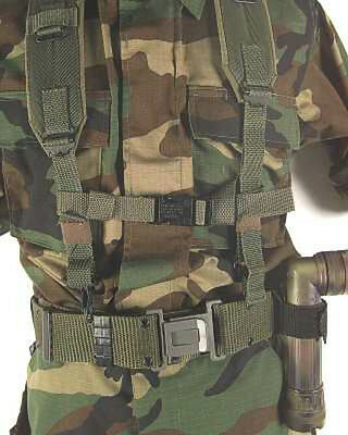 Desert TAN Military Tactical Alice Field Bug Out Back Pack Chest Strap Cord NEW