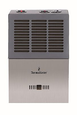 Thermablaster 6,000 BTU Blue Flame Natural or Propane Gas Wall Heater w/ Tstat