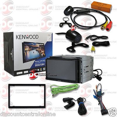 """KENWOOD DDX672BH 6.95"""" TOUCHSCREEN DVD BLUETOOTH STEREO """"FREE"""" 170° REAR CAMERA"""