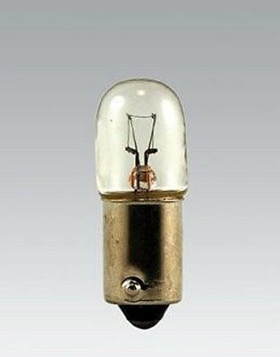Miniature Lamp 10-Pack 967 130V T3-1/4 T3.25 BA9S Base .025Amps Light Bulb 12364