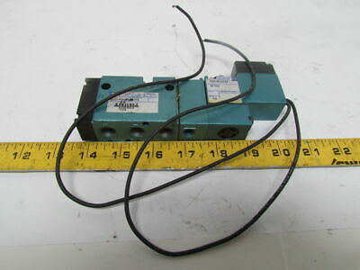 Mac 812C-PM-501AA-112 Pneumatic Solenoid Air Valve 24VDC 25 to 150psi