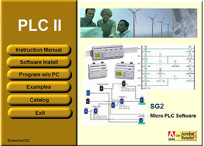 PLC Training Simulation with SG2 Micro PLC Software