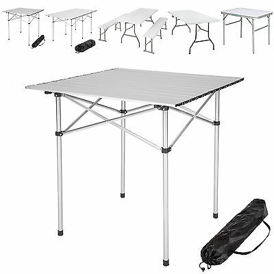 Folding Portable Camping Table Garden Party Bbq Benches Camping