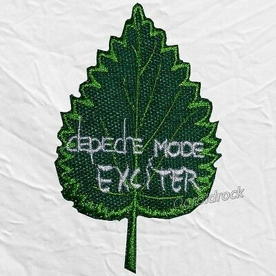 Depeche Mode Exciter Logo Embroidered Patch Rock Vince Clarke Andrew Fletcher