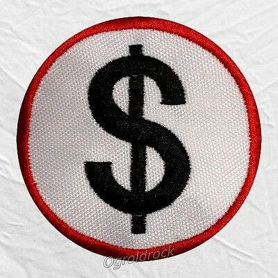 Marilyn Manson Money Logo Embroidered Patch The High End of Low & Spooky Kids