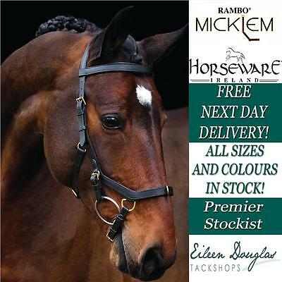 Horseware Rambo Micklem Multibridle Horse Riding Multi Bridle All Sizes In Stock
