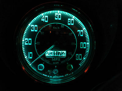 Morris Austin Mini Mk 2 3 Smiths Dash Clock Gauge Green LED Full 9 Bulb Set/Kit