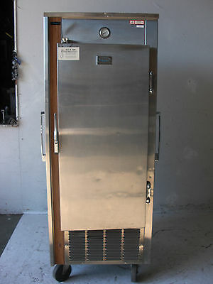 Used 1 door single freezer all stainless steel Free Ship!!!
