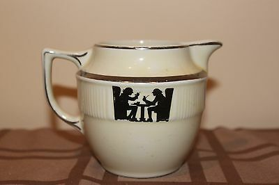 Vintage Taverne Hall China Colonial Creamer