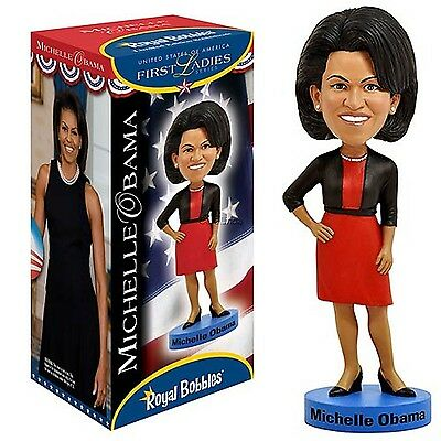 Royal Bobbles MICHELLE OBAMA bobblehead First Lady figure new