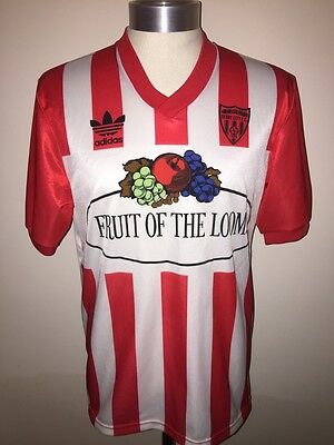 Vintage Adidas Derry City Football Shirt Soccer Jersey Size L
