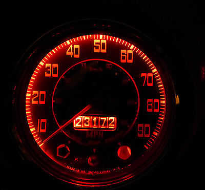 Triumph TR250 GT6 Herald Vitesse SMD Red LED Dash Instrument E10 Bulb Upgrade x2