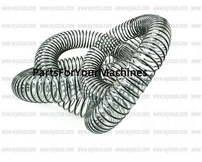 5' Of Clear Wire Reinforced Hose,1.50, Flexible, Vacuums, Walk Behind Scrubbers