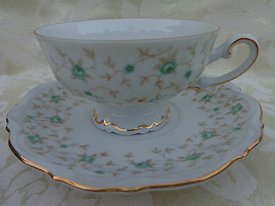 MITTERTEICH LADY PATRICIA 4 SETS OF CUP AND SAUCER, BAVARIA, GERMANY