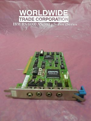 IBM 6302 88G2774 11H5693 Ultimedia Audio Adapter pSeries Free Warranty