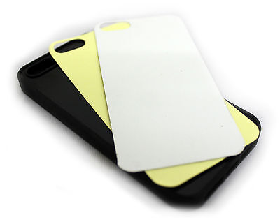 Choose Quantity SOFT RUBBER Blank iPhone 4 Case in Black - Sublimation Printing