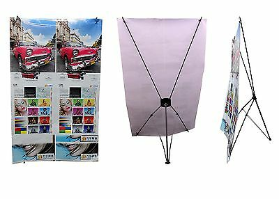 X Frame Banner Stand, Aprox 800Mm X 1800Mm, Exhibition Commercial Pop Up Banner