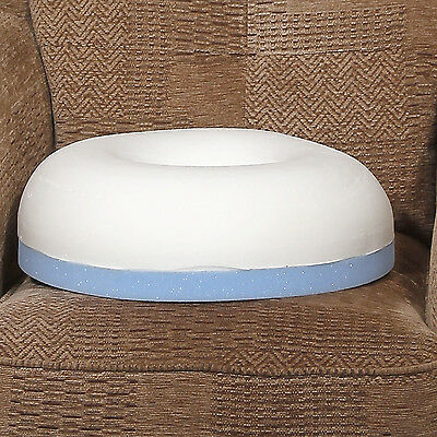 Comfortnights Donut Cushion With Extra Firm Support, With Free White Poly Cotton