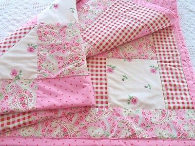 Patchwork Quilting Kit Complete Quilting Set Cath Kidston Fabrics Baby Blanket