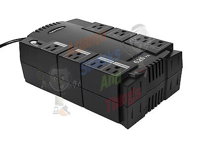 CyberPower 625VA/375 Watts Battery Backup with Surge Protection