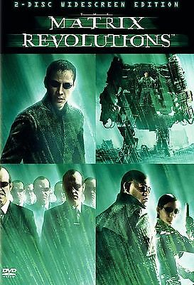 Matrix Revolutions 2-Disc Set Keanu Reeves Laurence Fishburne Carrie-Anne Moss
