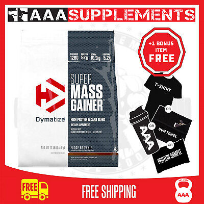 Dymatize Super Mass Gainer Protein Powder 5.4Kg 12Lbs