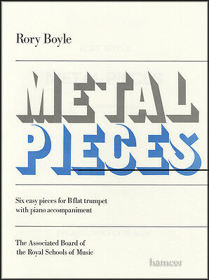 Metal Pieces for B Flat Trumpet ABRSM Sheet Music Book 6 Easy Pieces