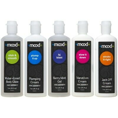 Doc Johnson Mood Pleasure For Him Personal Sex Lubricant 5 Pack