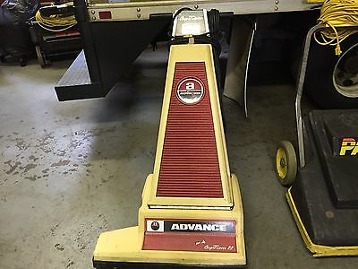lot of 3 Advance Comerical Vacuums, wide swarth