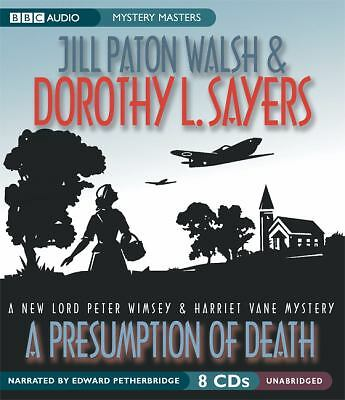 A Presumption of Death by Jill Paton Walsh and Dorothy L. Sayers (2003, CD,...