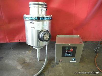 Salvajor 150 Commercial Garbage Disposer 1.5hp with Auto Reverse Control Box