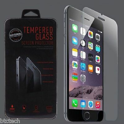 Wholesale Lot of 10x Tempered Glass Screen Protectors for Apple iPhone 6 6S Plus