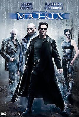 THE MATRIX DVD Keanu Reeves Laurence Fishburne Carrie-Anne Moss Widescreen Edi