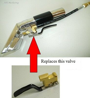 Carpet Cleaning - Auto Interior Extractor - DETAIL TOOL VALVE REPLACEMENT